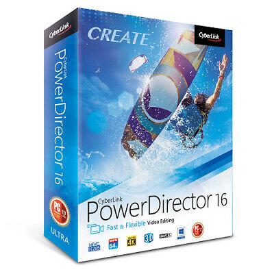 PowerDirector 16 ✅ Windows ✅ Advanced Editing Video