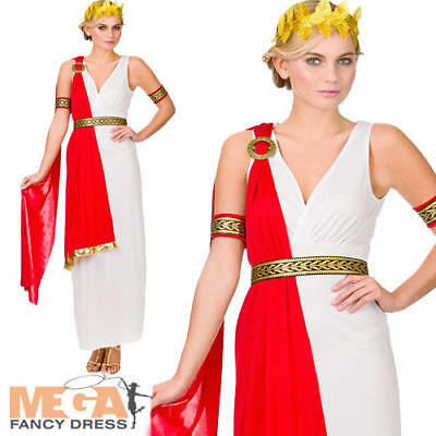 Roman Lady Historical Fancy Dress Ladies Ancient Rome Womens Greek Adult Costume - Ancient Rome Costumes
