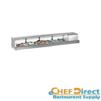 Turbo Sak-70r-n 72 Sushi Display Case - Right Side Compressor