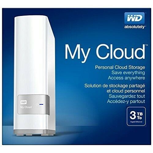 NEW! WD My Cloud 3TB Personal Cloud Storage External Hard Drive