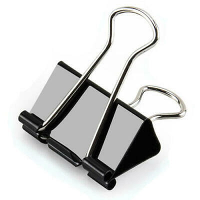 Extra Large Black Binder Clips For Office And School Use12pcsbox