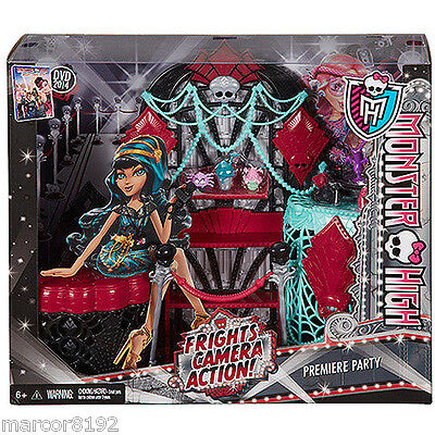 Monster High Frights Camera Action Premiere Party - New in Box