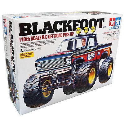 Tamiya 1:10 2WD Off Road Pick Up Truck Blackfoot 2016 EP w/ESC RC Cars #58633