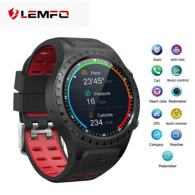 LEMFO M1 Sport Smart Watch Phone SIM GPS Heart Rate Smartband For Android iPhone