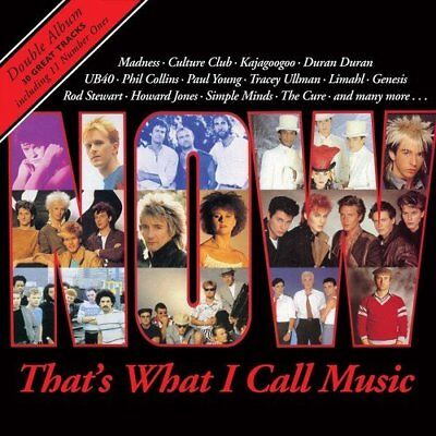 NOW THATS WHAT I CALL MUSIC 1 (Various Artists) Double VINYL LP (2018)