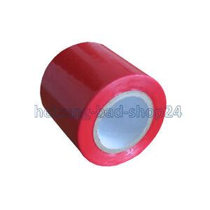 bande adh sive pvc 50mm x 10m rouge pour tuyau de protection isolation de tuyau ebay. Black Bedroom Furniture Sets. Home Design Ideas