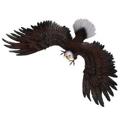 Majestic Eagle Wings of Glory American Bald Eagle Wall Decor Sculpture 18 Inch ()