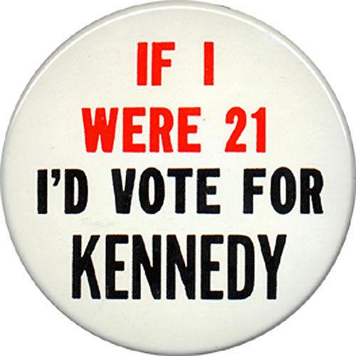 1960 John F. Kennedy IF I WERE 21 I