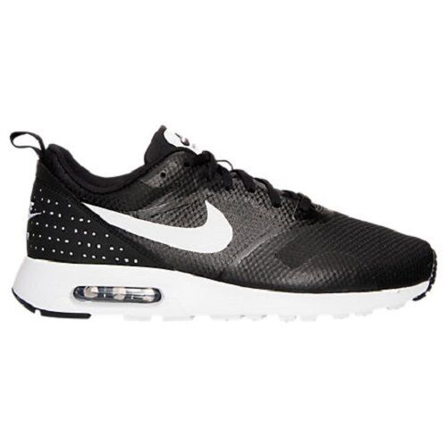 705149 009 Men's Nike Air Max Tavas Running Shoes!! BLACKWHITEBLACK!!