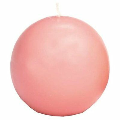 "Biedermann & Sons Ball Candle 2.5"", Pink (CBC60PK), used for sale  Shipping to India"