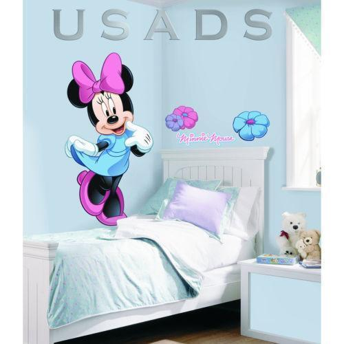 minnie mouse wandsticker m bel wohnen ebay. Black Bedroom Furniture Sets. Home Design Ideas