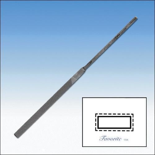 GLARDON-VALLORBE SWISS NEEDLE FILE PILLAR 20cm CUTS # 00-0-1-2-3-4 LA2401