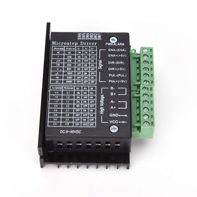 Single Tb6600 Stepper Motor Driver Controller Micro-step Cnc Axis 24 Phase