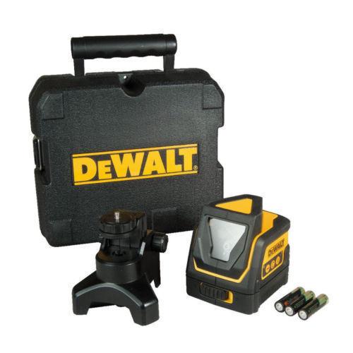 DEWALT 360 Degree Self-Leveling Horizontal/Vertical Line Laser DW0811 New