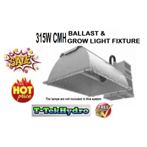 TTHYDRO: 315W CERAMIC METAL HALIDE BALLAST & GROW LIGHT FIXTURE