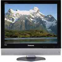 """Looking for an older """"square"""" LCD TV"""
