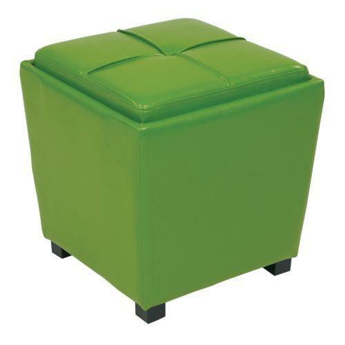 Kids storage ottoman ebay for Kids storage ottomans