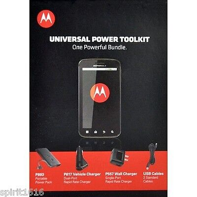 Motorola Universal Portable Power Battery Backup Droid Blackberry LG Apple Nokia Blackberry Portable Charger