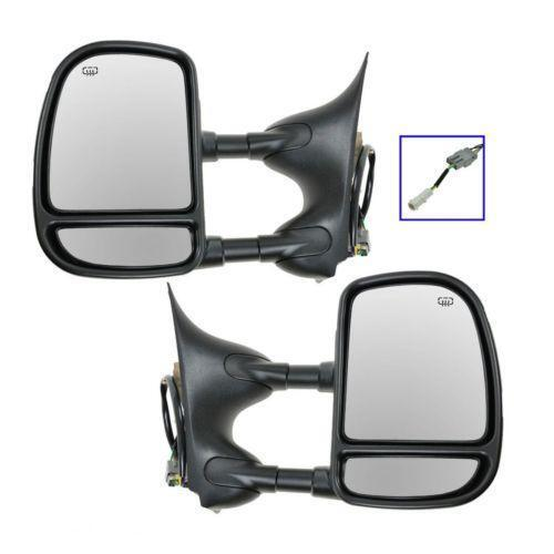 Vehicle Towing Mirrors : Ford truck towing mirrors ebay