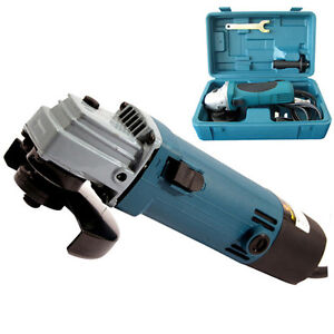 4-ANGLE-GRINDER-600WATT-IN-BLOWCASE-SET-115MM-DIY-TOOL-KIT-DICS-POWER