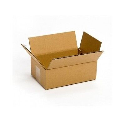 Small Cardboard Delivery Boxes 25 Pack 8x6x4 Packing Shipping Mailing Moving New