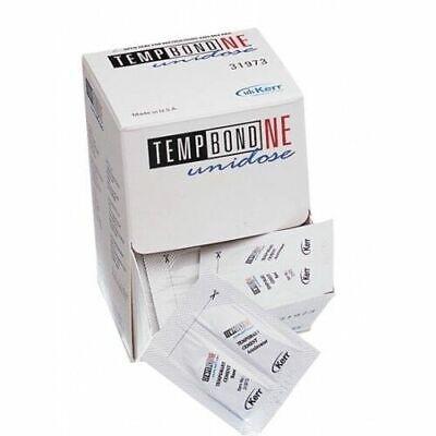 Kerr Dental Tempbond Ne Non-eugenol Temporary Cement Unidose 50pk 2.4 Gm