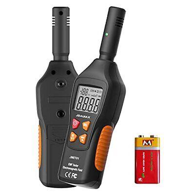 JOAUIAX EMF Meter Reader EMF Detector5HZ—3500MHz Digital Household Radiation ...
