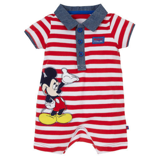 Mickey Mouse Romper for Boys