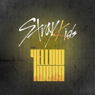 STRAY KIDS Clé 2 : Yellow Wood Limited Ver. CD + PHOTOCARD + FOLDED POSTER