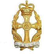 British Army Officer Cap Badges