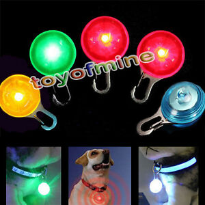 5pcs 5colors Fabulous Luminous Pet Dog LED Flashing Collar Safety Night Light