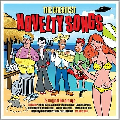 Various Artists - Greatest Novelty Songs [New CD] UK - Import