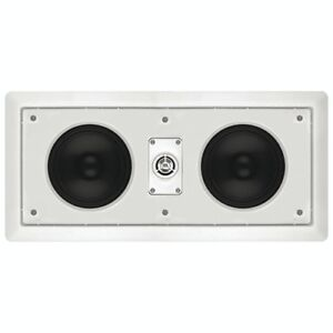 "JBL HTI55 120W 5"" In-Wall Speakers - White - NEW"