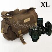 Canvas Camera Bag
