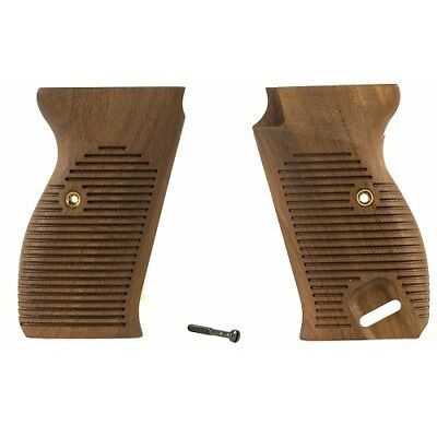 Used, Walther P38, P1 Commercial Walnut Grips for sale  Hamilton
