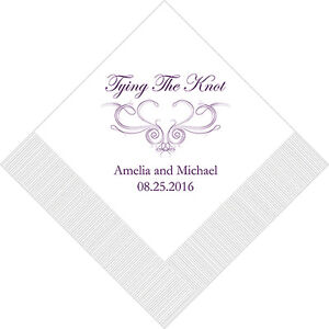Sep 25, · I got my personalized beverage napkins in from The Knot Shop and the imprint was crooked. I called and they asked me to send a picture of the product and gave me the option of a refund or reshipment. I chose reshipment because I have 7 months until the wedding.