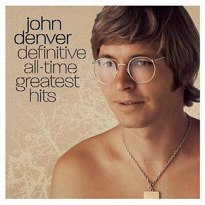 John Denver   Definitive All Time Greatest Hits  New Cd  Bonus Cd