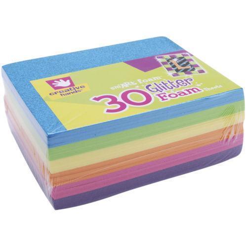 Glitter Foam Sheets Ebay