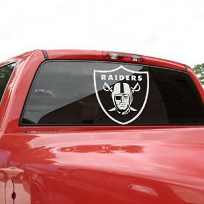 Oakland Raiders Window Sticker Decal Any Size Any Color