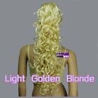 Golden Blonde Hair Extensions & Wigs