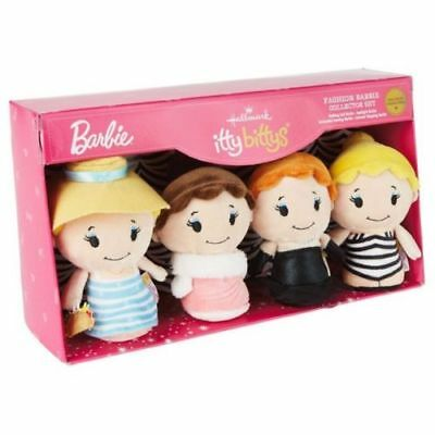 Itty Bitty Box - Hallmark Itty Bitty Barbie Fashion Collector Set of 4 2016 NEW Orig Box Exclusv