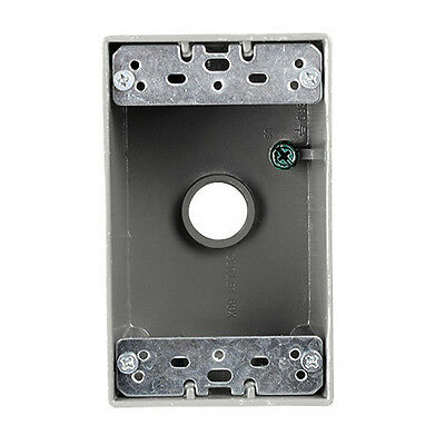 Weatherproof Single Gang Junction Box With 12 Opening