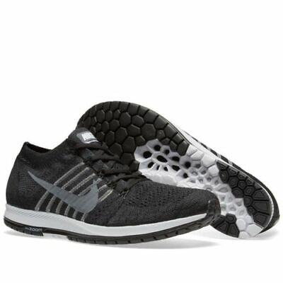 6aaca4fbdd5 NIKE Flyknit Streak Men s Shoes Sneakers 835990 010 Black Grey White