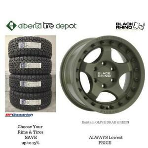 OPEN 7 DAYS LOWEST PRICE Save Up To 10% Black Rhino Rhino Bantam Olive Drab Green. Alberta Tire Depot.
