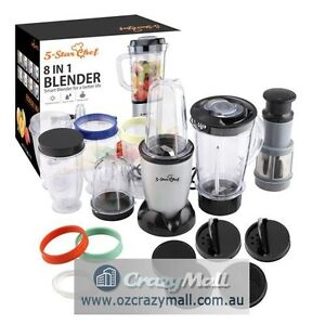 30 Piece 5 Star Chef Magic 8-in-1 Blender Set Sydney City Inner Sydney Preview