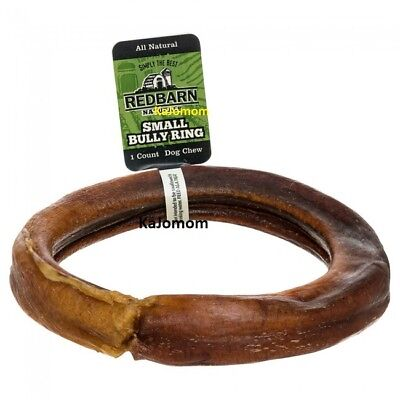 RedBarn BULLY RINGS Dog Chews & Treats Sticks Grass Fed Cattle NATURAL