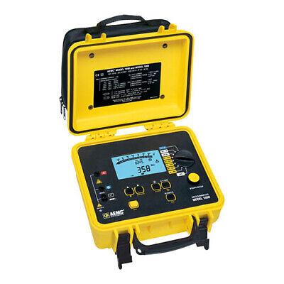 Aemc 1050 Megohmmeter Digital Bargraph Backlight Alarm Timer