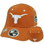 Texas Longhorns Fitted Cap