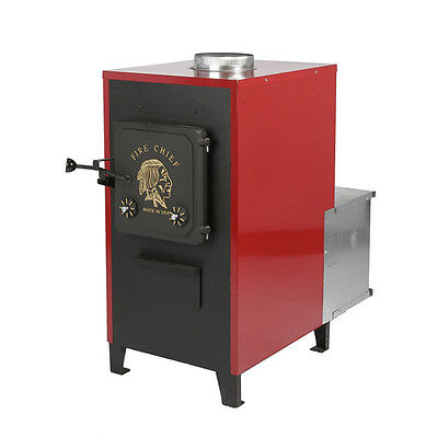 Passion Chief 80,000 BTU Indoor Wood Coal Blazing Laboured Air Furnace