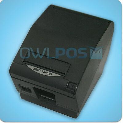 Star Tsp700ii Pos Thermal Receipt Printer Parallel Dark Gray 743iid Refurb 700